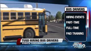 TUSD looking to hire bus drivers