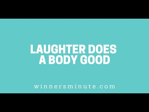 Laughter Does a Body Good // The Winner's Minute With Mac Hammond