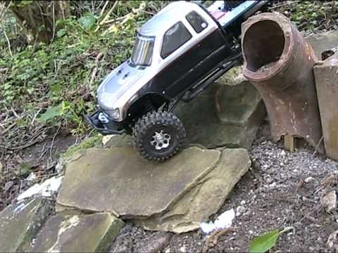 Honcho FINAL stage TEST RUN shake down on 4x4 tail Axial Racing SCX10 first run PART 14.mpg - UCK0iFdsCx_98tpRjNq9hvRw
