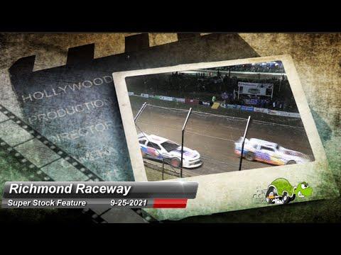 Richmond Raceway - Super Stock Feature - 9/25/2021 - dirt track racing video image
