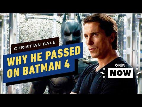 Batman: Why Christian Bale Turned Down The Dark Knight 4 Movie - IGN Now - UCKy1dAqELo0zrOtPkf0eTMw