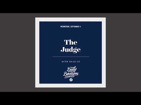 The Judge - Daily Devotion