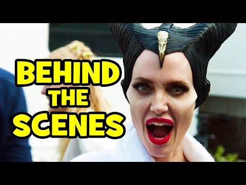 MALEFICENT 2 Behind The Scenes Clips & Bloopers - Mistress of Evil - UCS5C4dC1Vc3EzgeDO-Wu3Mg