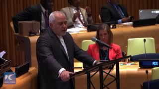 Zarif: Iranian people subjected most brutal form of economic terrorism