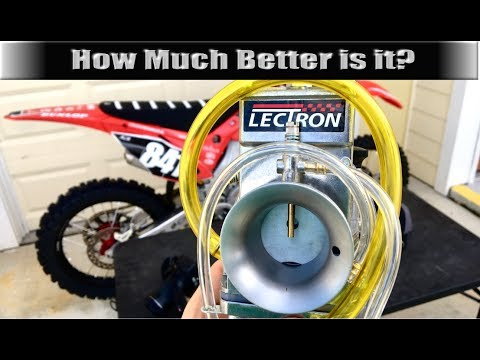 How Much Faster is a Lectron Carburetor? - Lap Time Comparison