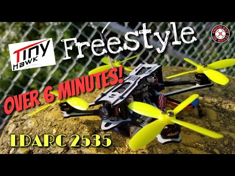 TinyHawk Freestyle - More Prop Testing: LDARC 2535 Quad-blades  - UCNUx9bQyEI0k6CQpo4TaNAw