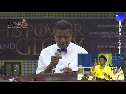 PASTOR E.A ADEBOYE SERMON  HIS POWER AND GLORY