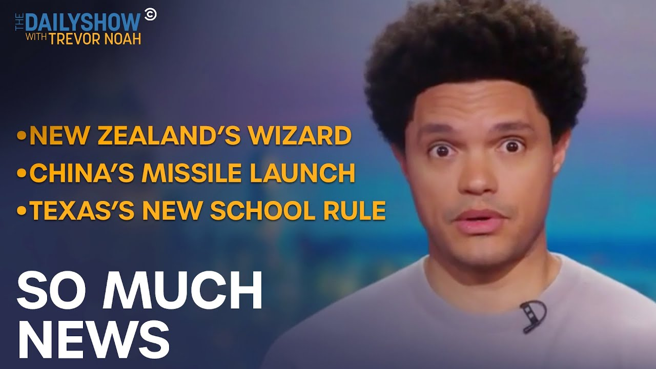 Texas Teaches Opposing Holocaust Views & China Flies A Missile Around The World | The Daily Show