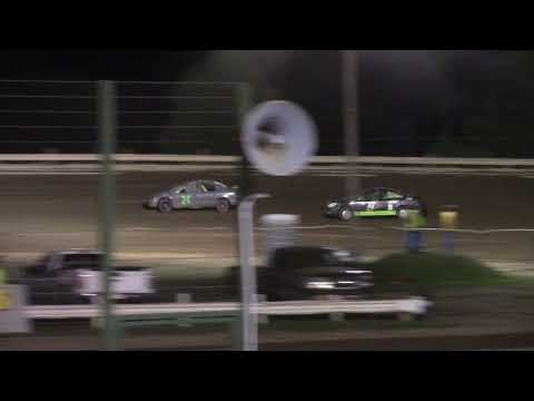 Hummingbird Speedway (8-7-21): Andy Man's Car Care Four-Cylinder Last Chance Qualifier - dirt track racing video image