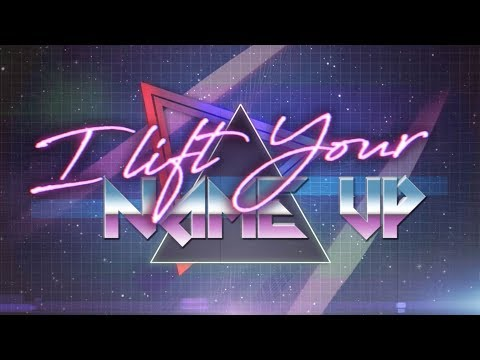 I Lift Your Name Up 80s Remix  Rain  Planetshakers Official Lyric Video
