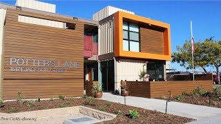 Potters Lane: Homeless Veterans' Container Housing Midway City, CA