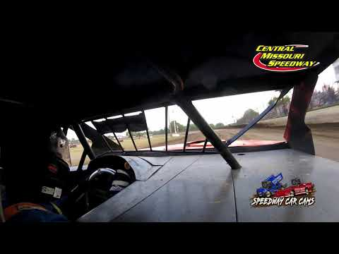 #25S Shannon Bardwell JR - B Modified - 6-19-2021 Central Missouri Speedway - In Car Camera - dirt track racing video image
