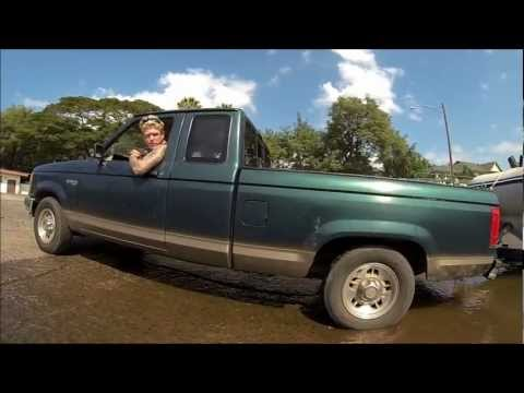 Guy gets truck stuck at boat ramp caught on GoPro Hero 3 Black