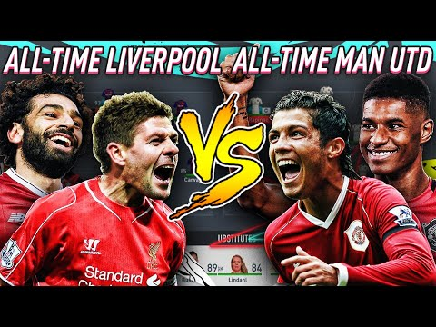 Liverpool All Time XI VS Man United All Time XI - FIFA 20 Experiment