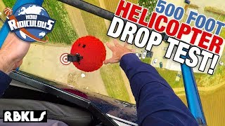 Epic LEGO Helicopter Drop ft. How Ridiculous - REBRICKULOUS