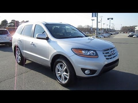 2011 Hyundai Santa Fe Limited Start Up, Engine, And In Depth Tour