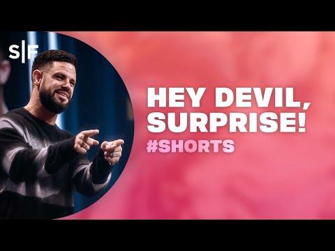 Hey Devil, SURPRISE! #Shorts  Steven Furtick