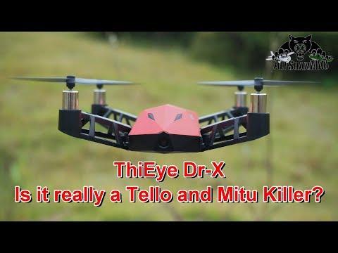 Watch this before you buy ThiEye Dr-X WiFi FPV Camera Quadcopter - UCsFctXdFnbeoKpLefdEloEQ