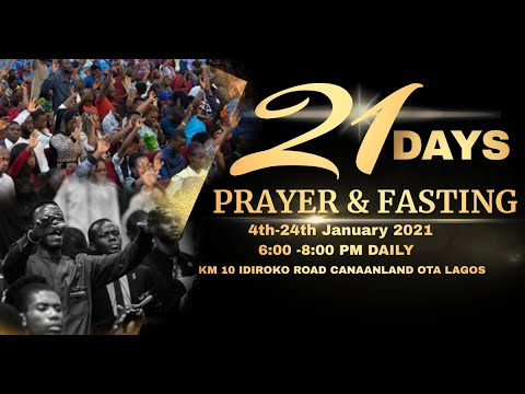 DOMI STREAM : PRAYER & FASTING  DAY 1  4, JANUARY 2021  FAITH TABERNACLE OTA