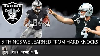 Hard Knocks - 2019 Oakland Raiders: 5 Things We Learned From Ep. 3 Ft. Jon Gruden & Josh Jacobs