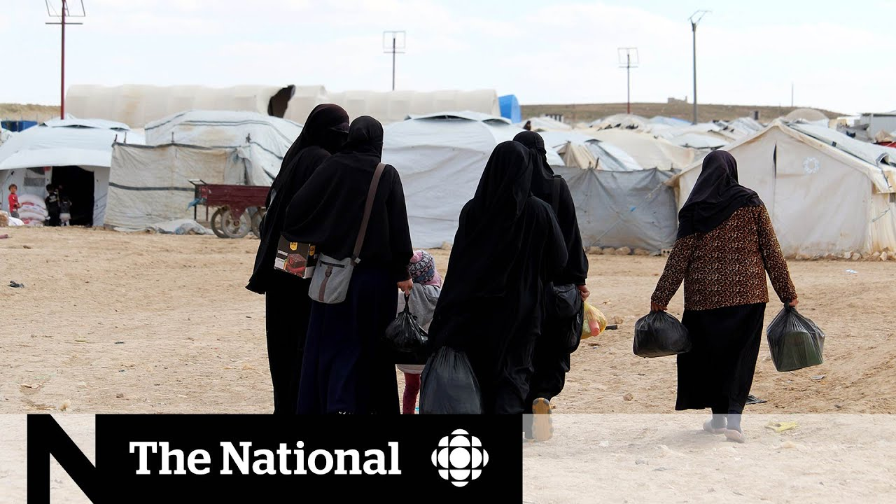 Inside an ISIS detention camp in Syria