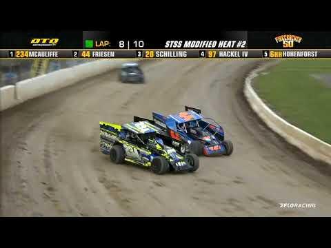 LIVE: Big Block Mod Heat Races | Short Track Super Series Firecracker 50 7.4.2021 - dirt track racing video image