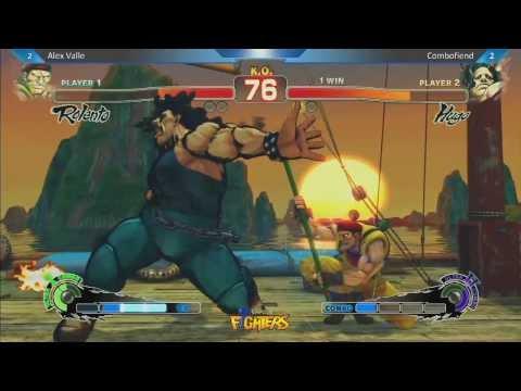 Alex Valle vs Combofiend - Super Arcade Ultra Street Fighter IV Location Test - UCPGuorlvarThSlwJpyTHOmQ