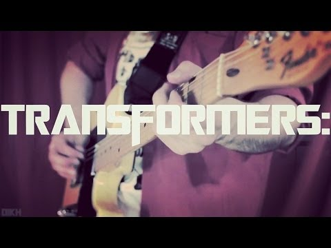 Transformers Movie Theme Guitar Cover (by dikh)