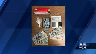 Hundreds of bags of fentanyl found during traffic stop in Lancaster County; alleged dealer charged