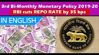 RBI Cuts Repo rate to 5.4% - What does this mean for Indian economy - 3rd Monetary policy