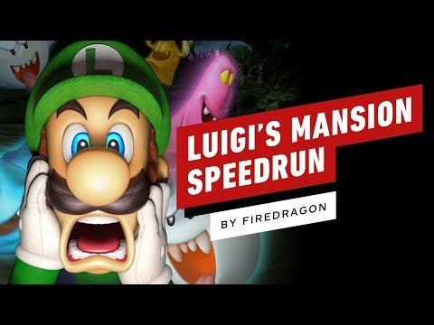 Luigi's Mansion Speedrun Finished In 1 Hour 12 Minutes (by FireDragon) - UCKy1dAqELo0zrOtPkf0eTMw