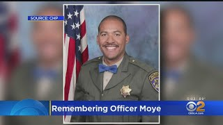 CHP Honors Fallen Officer Moye In Riverside