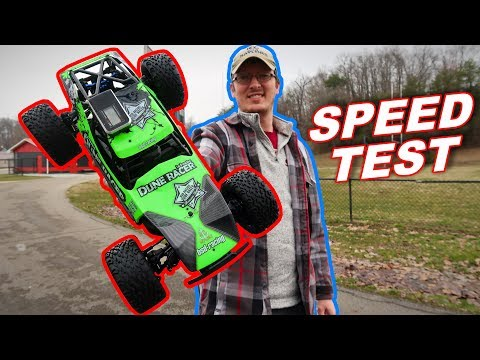 BSD Dune Racer Electric Brushless RC Car Speed Test - BSD Racing CR-218R - TheRcSaylors - UCYWhRC3xtD_acDIZdr53huA