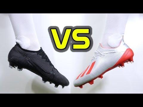ULTIMATE SPEED BOOT BATTLE! - Nike Mercurial Vapor 13 Elite vs Adidas X 19.1 - UCUU3lMXc6iDrQw4eZen8COQ