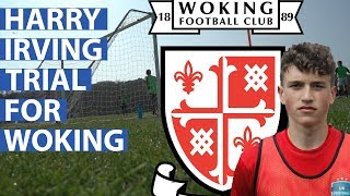Harry Irving | Aged 16 | Signed for Woking