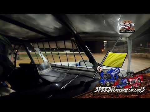 #10p Dayton Pursley - Usra Bmod - 7-30-2021 Lebanon Midway Speedway - In Car Camera - dirt track racing video image
