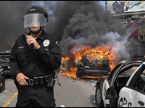 Breaking America Is Burning Pray, Pray, Pray