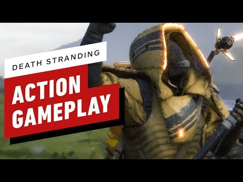 Death Stranding: Every Action Moment From TGS 2019's Gameplay (English Subtitles) - UCeY0bbntWzzVIaj2z3QigXg