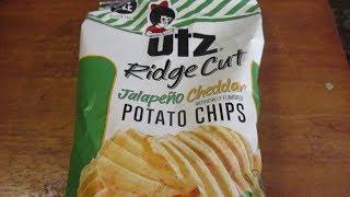 Utz Ridge Cut Jalapeno Cheddar Potato Chips