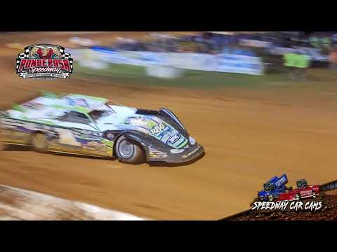 Super Late Model Feature at Ponderosa Speedway - The first 25 laps on 8-6-21 - dirt track racing video image