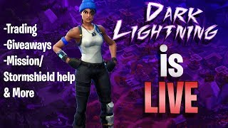 Fortnite: Save The World Mission Grinding with Subs!