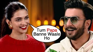 Deepika Padukone Hints At Her PREGNANCY? Ranveer Singh To Be A Daddy Soon?