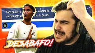A REALIDADE DA WL E DESABAFO! RAGE NO FIFA 19 Ultimate Team