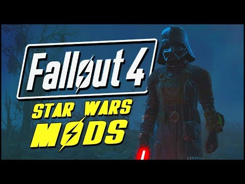 Fallout 4 Mods & Funny Moments | STAR WARS LIGHTSABER & DARTH VADER MOD! - UCEW4XZHEfIRIybIUIgCHrLg