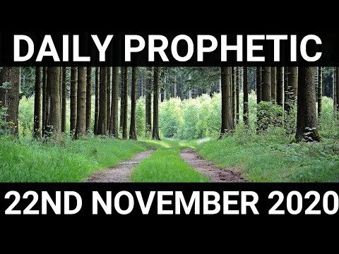 Daily Prophetic 22 November 2020 10 of 12