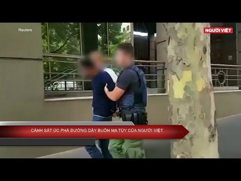 Cảnh sát Úc phá đường dây buôn ma túy của người Việt