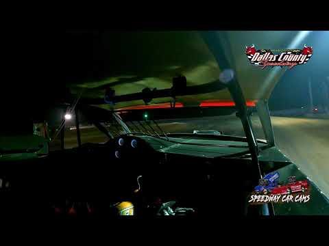 #54 David Hendrix - Usra Stock Car - 8-13-2021 Dallas County Speedway - In Car Camera - dirt track racing video image