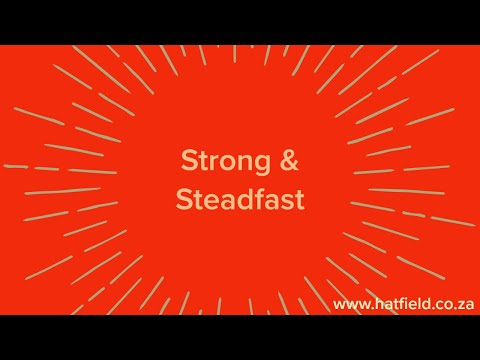 Strong & Steadfast  Wednesday, 6 May