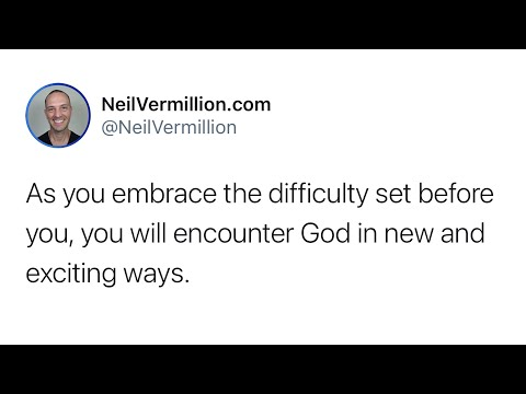 Your Solution Is Before You - Daily Prophetic Word