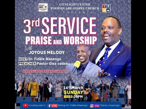 FOURSQUARE TV  'Sunday Second Service With Pastor GISA Cadeau 14 .03.2021